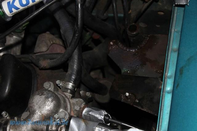 Rover Mini Xn Ausgleichbehälterbefestigung