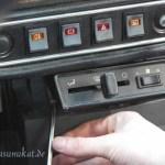 Rover Mini Xn - Heizungsschraube lösen 1