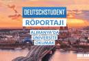 Almanyada Üniversite okumak deutschstudent