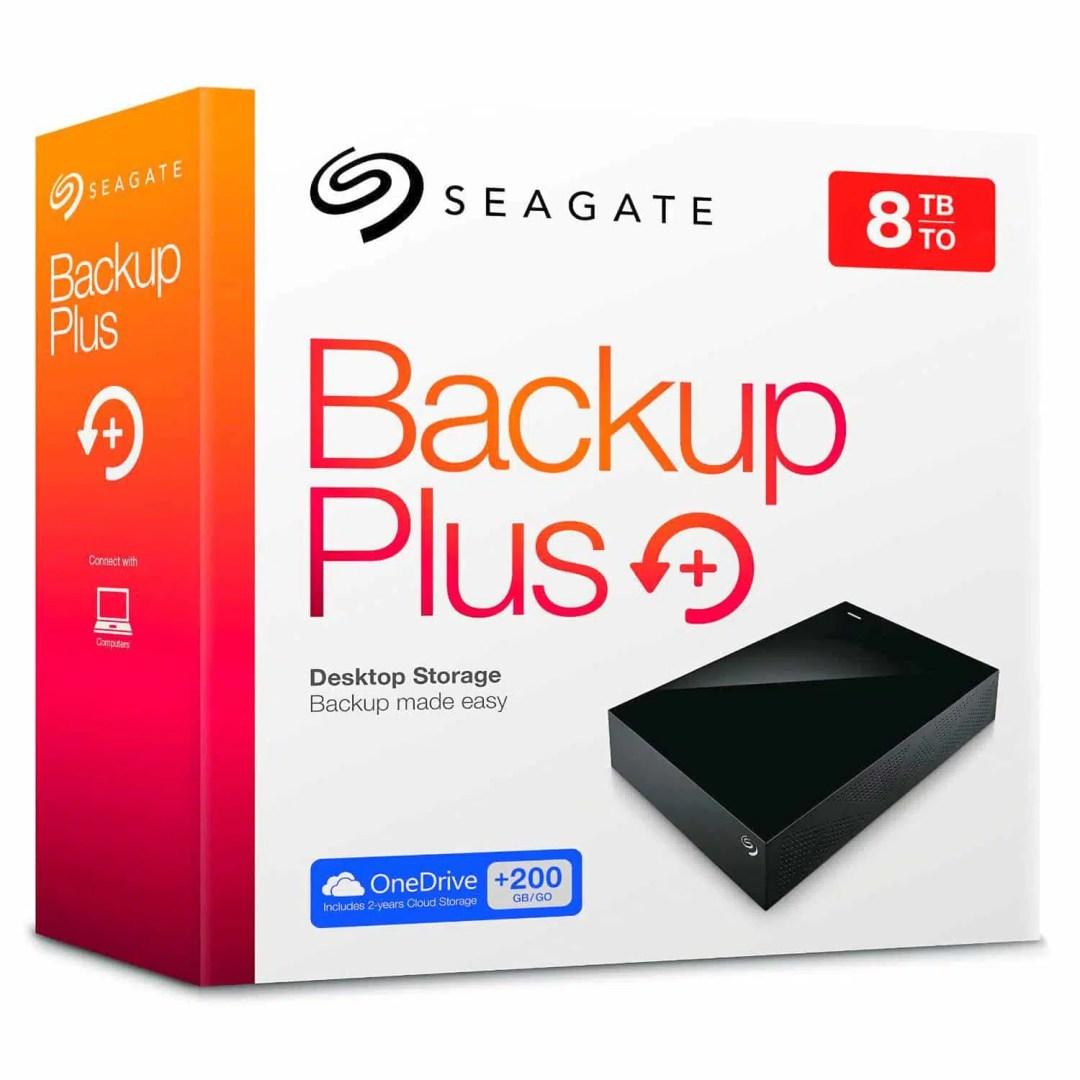 Seagate Backup Plus 8Tb ST8000AS0002