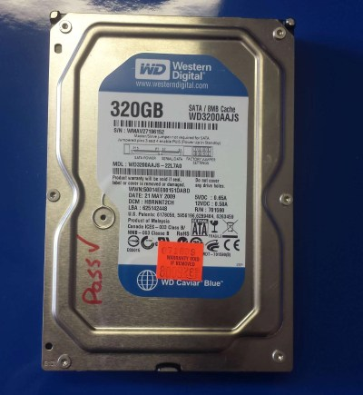 WD Blue, 320GB,