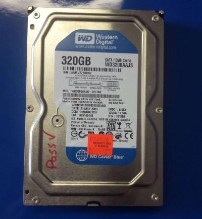 WD Blue, 320GB,