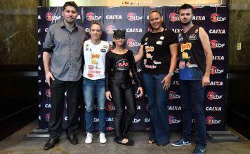 Representantes do time catanduvense no lançamento oficial da LBF / Foto: Divulgação