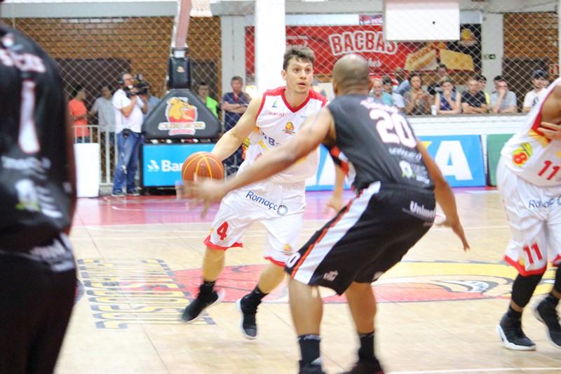 Cauê Borges bateu seu recorde pessoal de pontos e igualou 2ª maior marca deste NBB / Foto: Matheus Magnani-Divulgação
