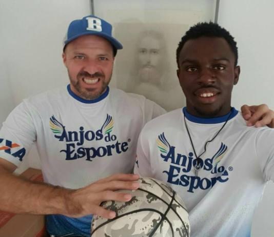 André Brazolin e Adrian Mouaha / Foto: Divulgação-ASE