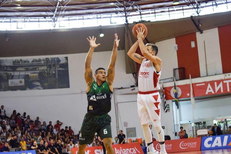 Paulistano chegou à 10ª vitória seguida e está na terceira colocação / Foto: Davi Tiago/CAP