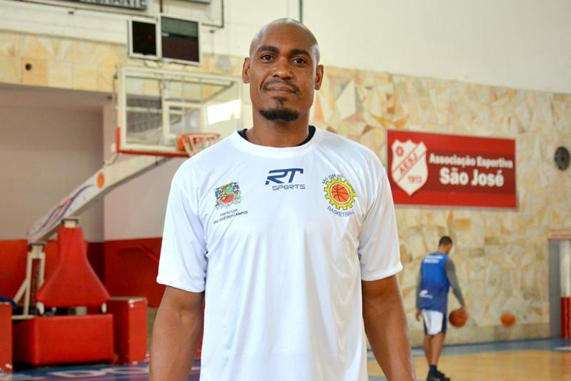 Marcio Dornelles jogou as dez edições do NBB / Foto: Arthur Marega Filho-São José Basketball