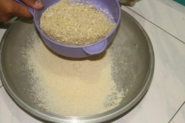 pembuatan tepung biji durian