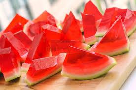 cara membuat jelly dari kulit semangka