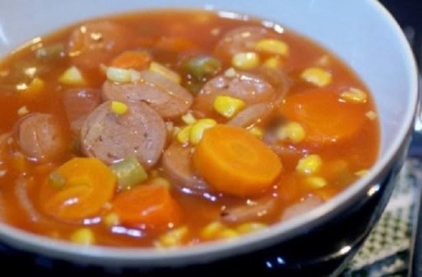 Resep Sup Sosis Jagung Manis
