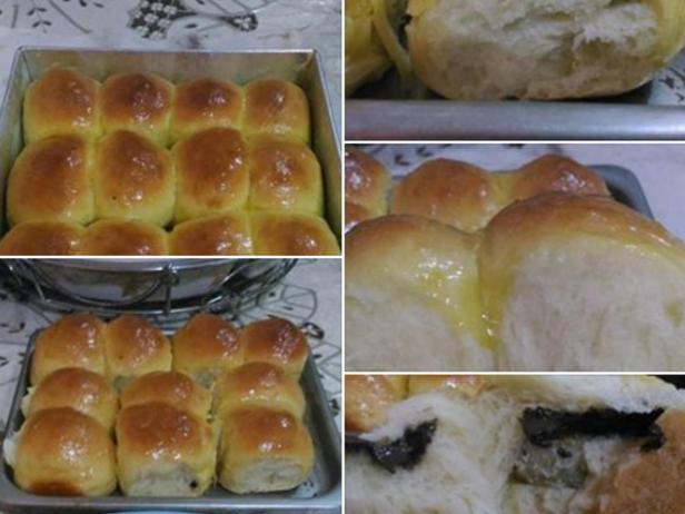 Roti Sobek Isi Pisang Cokelat