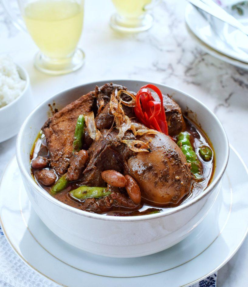 Resep Brongkos Ayam