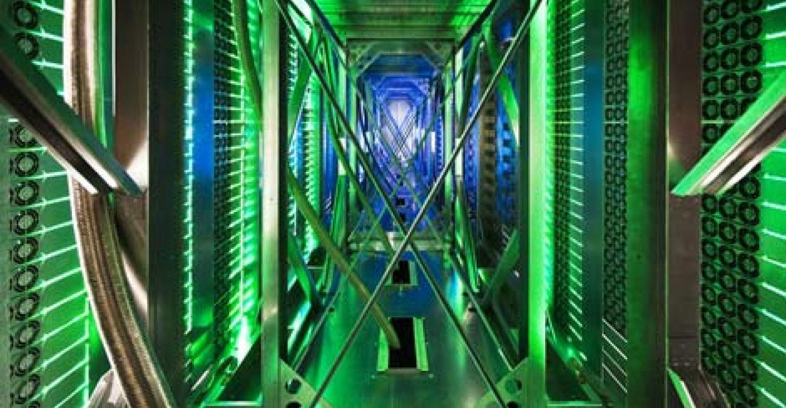 google data center cooling how does