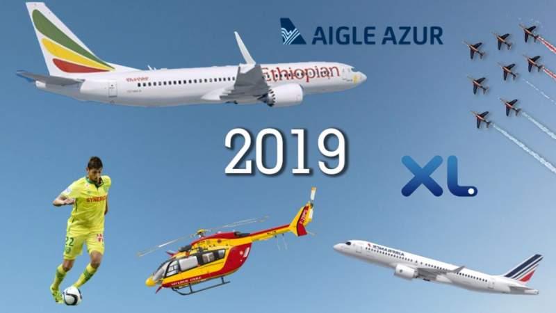 Aviation : Les événements marquants de l'année 2019