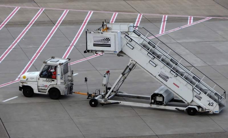Liste des véhicules présents dans les aéroports