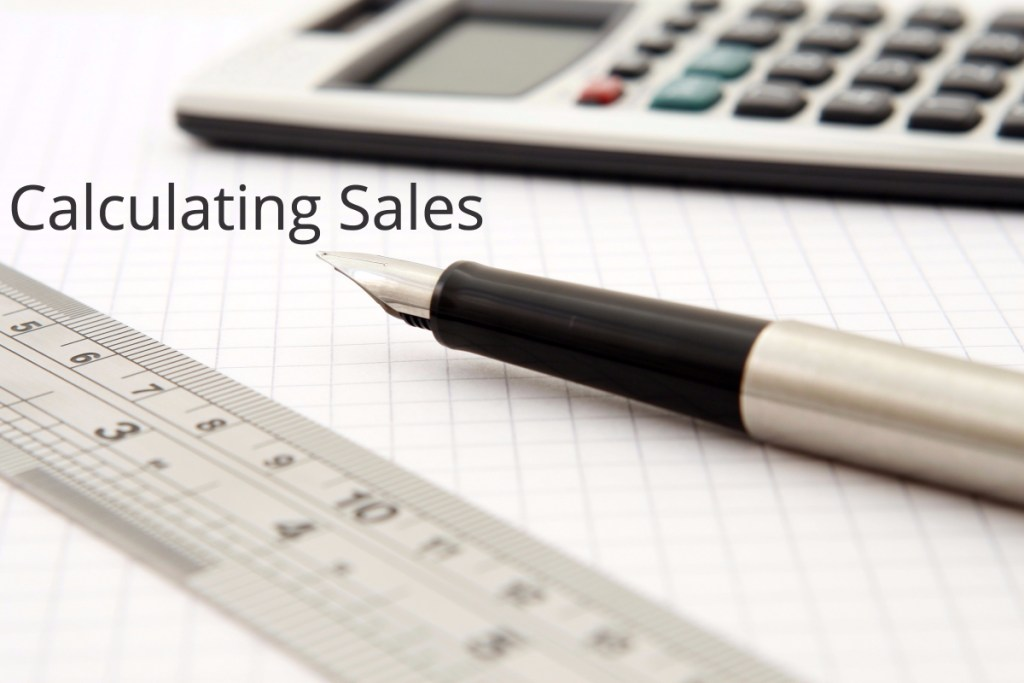 Calculating Sales