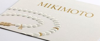 Mikimoto Foil Stamped Mailer