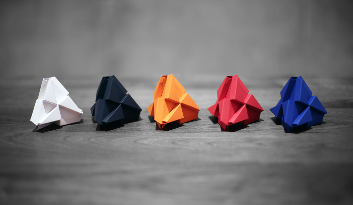 Troxes Origami Building Blocks Die Cutting And Printing By
