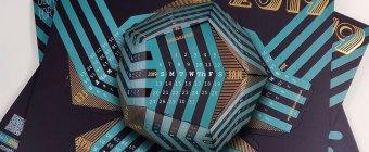 promotional 3d desk calendar