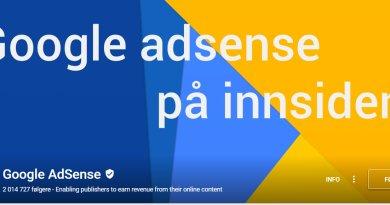 Ett kritisk blikk på Google Adsense