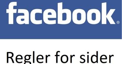 Din bedrift er på Facebook. Hvorfor følger du ikke reglene?
