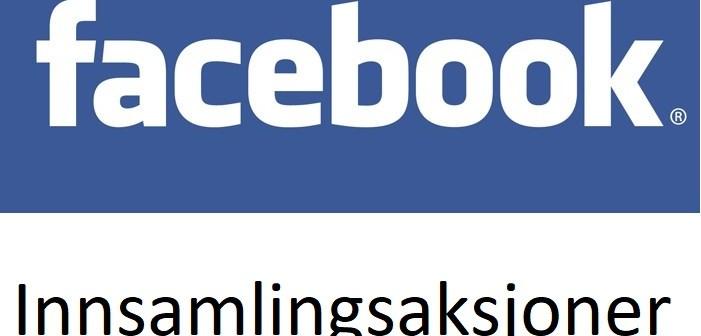 Bilderesultat for facebook innsamlinger