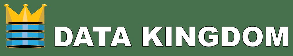 DATA KINGDOM logo wit