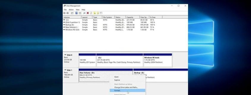 Ανάκτηση δεδομένων μετά από format