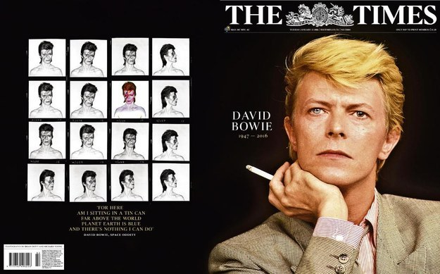 Bowie The Times