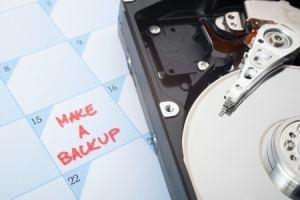 hard disk back up