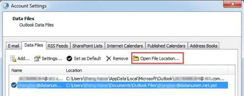 """5 Resolutions to """"The file Outlook pst cannot be found"""