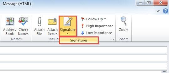 Create Signatures