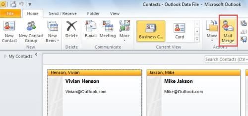 How to send personalized emails to multiple contacts via a form mail merge colourmoves