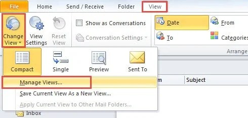 How to Customize the Default View for New Folders in Outlook