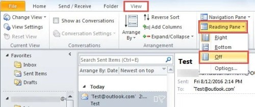Outlook 2016 Crashes When Opening Certain Emails