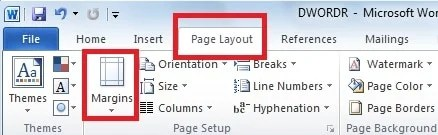 how to get rid of blank page in word
