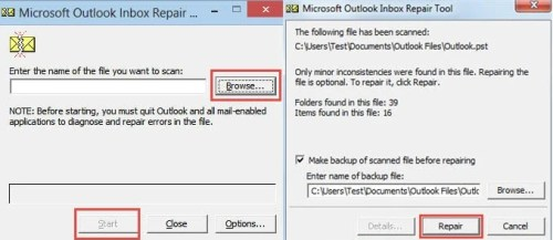 """4 Solutions to Outlook Error """"Out of memory or system"""