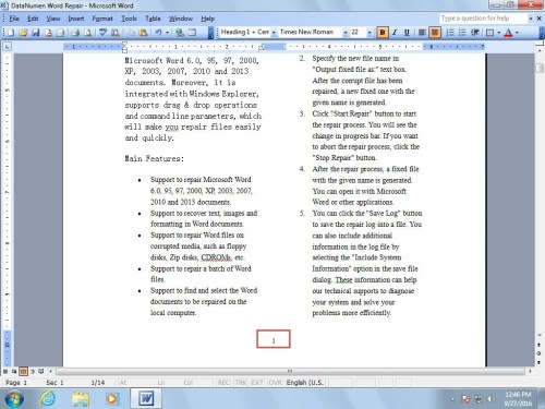 how to add quotes to a word document