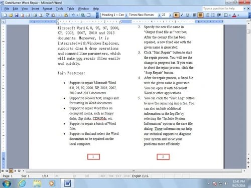 how to add two columns in word