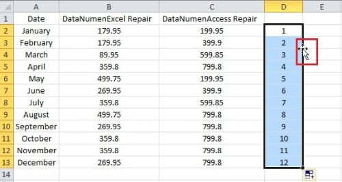 how to change a column of excel into a row