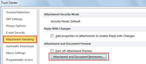 What to Do If PDF Attachments Cannot Be Previewed in Outlook