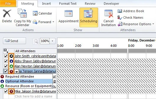 3 Easy Tips to CC or BCC an Outlook Meeting Invitation Data