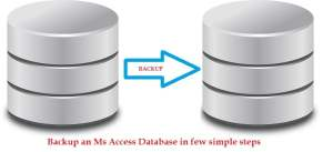 Backup An Ms Access Database In Few Simple Steps
