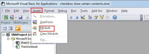 3 Methods to Use Checkbox to Show or Hide the Cell Contents in Excel