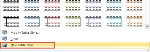 how to create a column in colour in word