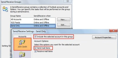 how to send & receive email on outlook online