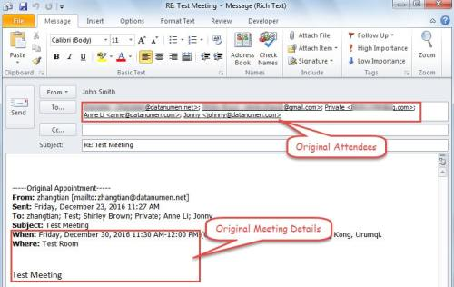 How to Change the Meeting Organizer in Your Outlook - Data