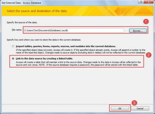 How to Link One Access Database to Another - Data Recovery Blog