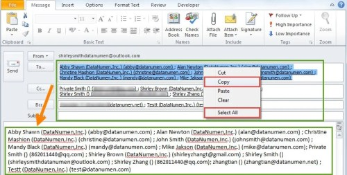 2 Methods to Count the Number of Recipients in an Outlook