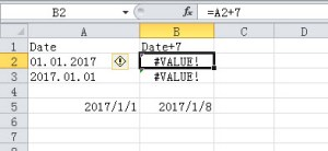 how to fix excel #value